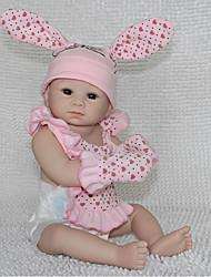 Недорогие -npkdoll возрождается кукла ребенка жесткий силикон 20inch 50см магнитный симпатичный реалистичное милая девушка игрушка розовый кролик