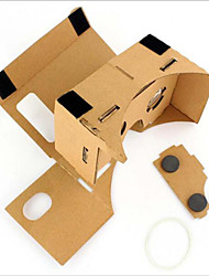cheap -Cardboard VR Virtual Reality Glasses Storm Mirror DIY Kit  Unisex VR Glasses