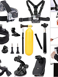 Clip Floating Buoy Suction Cup Straps Hand Grips/Finger Grooves Monopod Balaclavas Mount / Holder Adjustable Waterproof All in One