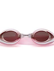 Недорогие -плавательные очки Водонепроницаемость Противо-туманное покрытие Регулируемый размер УФ-защита Поляризованные линзы По предписанию врача силикагель Поликарбонат розовый черный синий