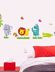 cheap -new dinosaur cartoon wall stickers lion children room decorative wall stickers can be removed in kindergarten