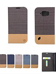 billiga -fodral Till Samsung Galaxy Samsung Galaxy-fodral Plånbok / Korthållare / med stativ Fodral Enfärgad Mjukt PU läder för S8 Plus / S8 / S7 edge