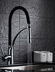Sprinkle® Kitchen Faucets  ,  Transitional  with  Chrome Single Handle One Hole  ,  Feature  for Pull out
