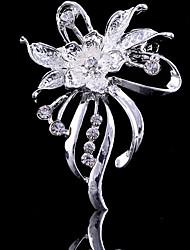 povoljno -Žene Broševi Slatko Zabava Posao Ležerne prilike Moda Kubični Zirconia Legura Pink Jewelry Za Vjenčanje Party Special Occasion godišnjica