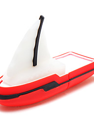 cheap -32GB Junk Sailing Boat USB 2.0 Flash Memory Drive U Stick Blue/ Red(ZPK04/34)
