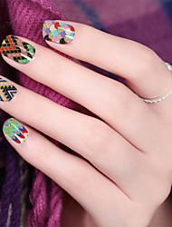 economico -Adesivi 3D unghie / Glitter-Fiore / Adorabile / Matrimonio- perDito- diAltro-1-14.5*7.5*0.1