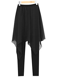 Pantaloni Da donna Skinny / Harem Taglie forti / Moda città Poliestere / Elastene Elasticizzato