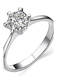 cheap -Women's Crystal Silver Golden Imitation Diamond Classic Love Birthstones Fashion Wedding Party Gift Daily Valentine Costume Jewelry