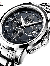 cheap -Carnival Men's Automatic self-winding Wrist Watch Hot Sale Stainless Steel Band Charm Fashion White