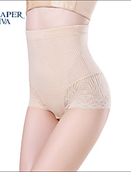Shaperdiva Women's  Lace Butt Lift Shapewear High Waist Body Shaper Control Panties