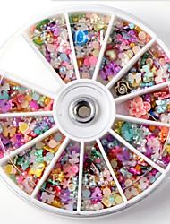 economico -1Set-Gioielli per unghie / Altre decorazioni-Cartoni animati / Astratto / Adorabile / Matrimonio-Dito / Dito del piede- diAltro-8*8