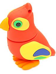 zpk36 8gb desenhos animados da coruja vermelha usb pássaro unidade de memória flash de 2,0 u vara