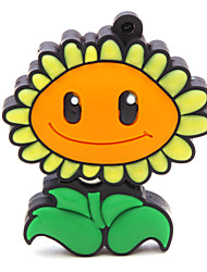 ZPK47 16GB Flower Sunflower USB 2.0 Flash Memory Drive U Stick