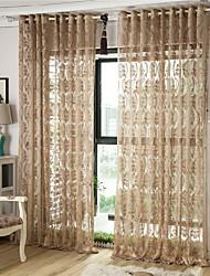 Gjennomsiktige gardiner
