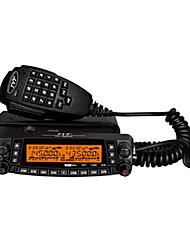 Tyt th-9800 walkie talkie 50w quad band de duas vias de rádio fm twin display