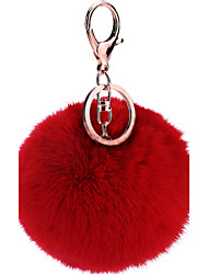 cheap -Pom Pom Fun Ball Keychain for Decoration Bags Gift