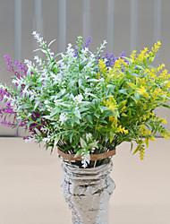 High Quality Lavender Flowers Silk Flower Silk Flower Artificial Flowers for Home Decoration Flower Kit 1pc/set