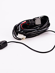 baratos -iztoss off road ATV / jeep levou luz cablagem barra - 40 relé amp interruptor on / off