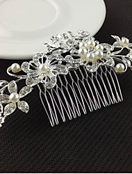 cheap -Alloy Hair Combs Hair Tool 1 Wedding Special Occasion Headpiece
