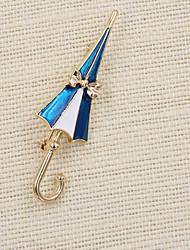 Недорогие -моды женщин мило эмаль зонт брошь (пакет с мешком подарков)