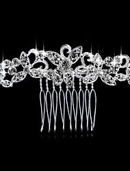 Недорогие -Декоративный гребень Аксессуары для волос Кристаллы парики Аксессуары Жен. штук 6-10cm см