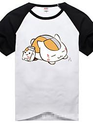 Inspirado por Natsume Yuujinchou Natsume Takashi Anime Fantasias de Cosplay Cosplay T-shirt Estampado Manga Curta Camiseta Para Unisexo
