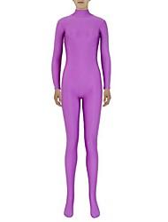 Costumi zentai Morphsuit Ninja Costumi Zentai Costumi Cosplay Viola Tinta unita Calzamaglia/Pigiama intero Costumi Zentai Elastene Licra