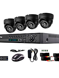 cheap -4 Channel NTSC 960 (H) x 582 (V) PAL: 976 (H) x 494 (V)  Surveillance System Security System Home Safety