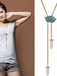 お買い得  -女性用 ステートメントネックレス / パールネックレス  -  真珠 ゴールド, シルバー ネックレス 用途