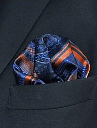 Недорогие -Для мужчин На каждый день Платок / аскотский галстук,Искусственный шёлк Полоски Все сезоны