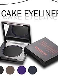 Eyeliner/Lidstrich Cream Lang anhaltend / Wasserdicht Schwarz / Braun / Lila / Blau Augen Rot Schwarz
