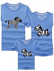 Familie Kleidung Sets - Kurzarm Sommer Baumwolle Dünn Mikro-elastisch