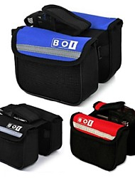 cheap -BOI Bike Bag 2L Bike Handlebar Bag Quick Dry Bicycle Bag Oxford Nylon Cycle Bag Other Similar Size Phones Cycling / Bike