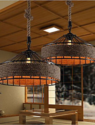 cheap -Chandelier Ambient Light - Designers, Country, 220-240V, Warm White White, Bulb Included