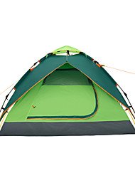 Makino 3-4 persons Tent Triple Camping Tent One Room Well-ventilated Waterproof Windproof Rain-Proof Dust Proof Anti-Insect Breathability