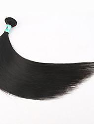 Menneskehår, Bølget Peruviansk hår Lige 1 Stykke hår vævninger