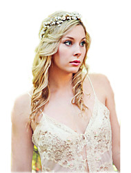 boho hair accessories flower headband Flower crown, rustic head wreath, wedding headband, bridal hair