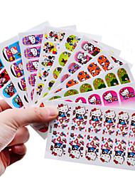 10 Nail Art Sticker  3D Nail Stickers Makeup Cosmetic Nail Art Design