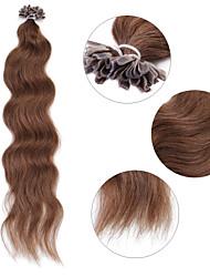 cheap -Fusion / U Tip Human Hair Extensions Straight Human Hair Women's Daily