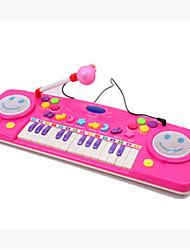 Недорогие -25 hhealth многофункциональная клавиатура обучения дошкольника музыка просветление с микрофоном ramdon цвета