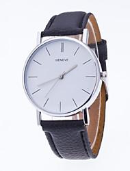 Men's Sport Watch Dress Watch Fashion Watch Wrist watch Quartz Large Dial Fabric Band Charm Multi-Colored