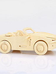 cheap -Wooden Puzzles Wood Model Car 3D Wood