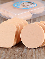 cheap -8PCS Dry And Wet Dual Purpose Make Up Powder Puff Cosmetic Beauty Care Makeup for Face