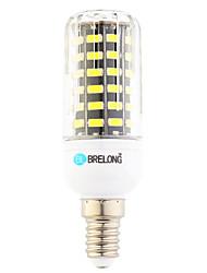 preiswerte -7W E14 LED Mais-Birnen T 64 Leds SMD Warmes Weiß Kühles Weiß 600lm 6000-6500;3000-3500K AC 220-240V