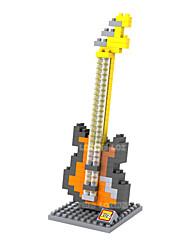 Costruzioni Strumenti giocattoli Giocattoli Violino Strumenti musicali Batteria Da ragazzo Da ragazza 160 Pezzi