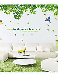 Animais / Botânico / Romance / Vida Imóvel Wall Stickers Autocolantes de Aviões para Parede,pvc 60*90cm