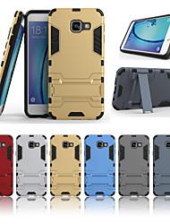 abordables -multicolor de la PC + caja del teléfono combinado de TPU para la galaxia a3 (2016) (colores surtidos)