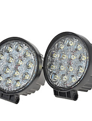 cheap -KAWELL Car Light Bulbs 42 W 2700 lm 14 LED Working Light For