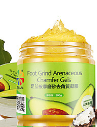Byfunme  Foot Grind Arenaceous Chamfer Gels  Foot Scrub Cosmetic Beauty Care Makeup for Face