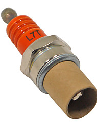 cheap -Orange L7T Spark Plug For Mini Motor Trimmer Chainsaw Lawnmower Hedge Trimmer Cutter